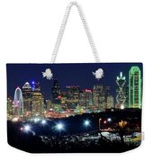 Approaching Dallas From Fort Worth Weekender Tote Bag