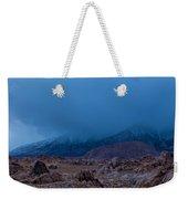 Approaching Snow Storm Weekender Tote Bag