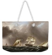 Approaching Squall Weekender Tote Bag