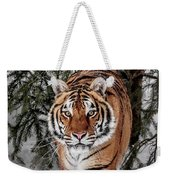 Approaching Tiger Weekender Tote Bag