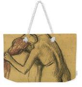 Apres Le Bain Femme S'essuyant Weekender Tote Bag