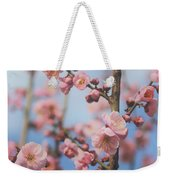 Apricot Blossom Weekender Tote Bag