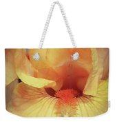 Apricot Iris Weekender Tote Bag