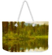 Apricot Reflections Weekender Tote Bag