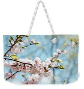 Apricots Bloom Weekender Tote Bag