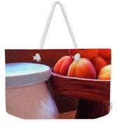 Apricots Weekender Tote Bag