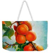Apricots In The Garden Weekender Tote Bag