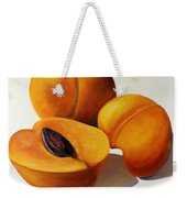 Apricots Weekender Tote Bag by Shannon Grissom