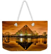 April 2015 - The Pyramid Sports Arena In Memphis Tennessee Weekender Tote Bag