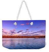 April Evening At The Lake Weekender Tote Bag