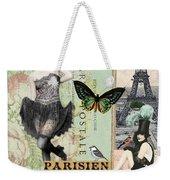 April In Paris Weekender Tote Bag