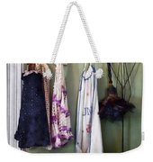 Aprons And Feather Duster Weekender Tote Bag