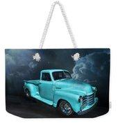 Aqua Blues Weekender Tote Bag