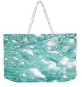 Aqua Bubbles Weekender Tote Bag
