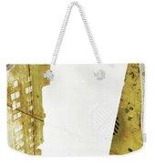 Aqua Metallic Series Together Apart Weekender Tote Bag