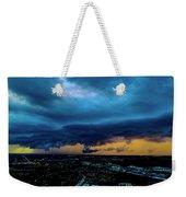 Aqua Skies Weekender Tote Bag