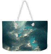 Aqua Sky Weekender Tote Bag