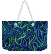 Aqua Tango Weekender Tote Bag