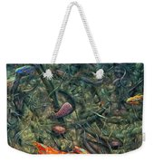 Aquarium 2 Weekender Tote Bag by James W Johnson