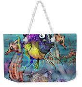 Aquarium Weekender Tote Bag