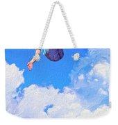 Aquarius Rising Weekender Tote Bag