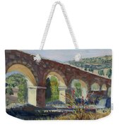 Aqueduct Near Pedraza Weekender Tote Bag