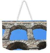 Aqueduct Of Segovia Weekender Tote Bag