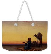 Arab At Prayer Weekender Tote Bag