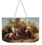 Arab Horsemen Weekender Tote Bag