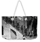 Arab Youths In Bethlehem 1938 Weekender Tote Bag
