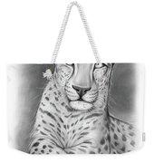 Arabian Leopard Weekender Tote Bag
