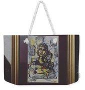 Arabic Art Weekender Tote Bag