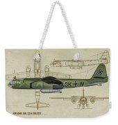 Arado Ar234b-2 - Profile Art Weekender Tote Bag