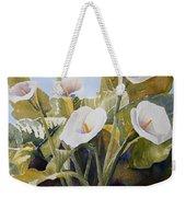 Aram Lillies Weekender Tote Bag