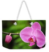 Arboretum Tropical House Orchid Weekender Tote Bag