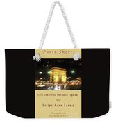 Arc De Triomphe By Bus Tour Cover Art Weekender Tote Bag