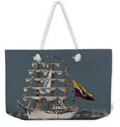 Arc Gloria Colombian Tall Ship Weekender Tote Bag