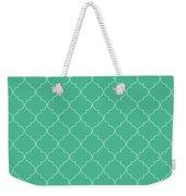 Arcadia Quatrefoil Weekender Tote Bag