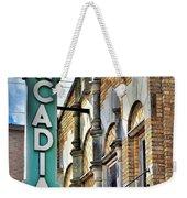 Arcadia Theater Weekender Tote Bag