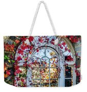 Arch And Red Vines Weekender Tote Bag