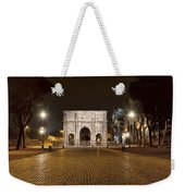 Arch At Night Weekender Tote Bag