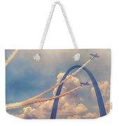 Arch Flight Weekender Tote Bag by Susan Rissi Tregoning