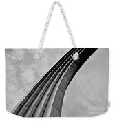 Arch In Black And White Weekender Tote Bag
