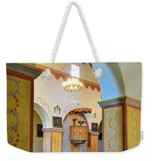 Arch In San Juan Bautista Mission Weekender Tote Bag