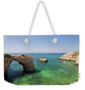 Arch Of Albandeira Beach Weekender Tote Bag