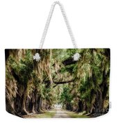 Arch Of Oaks - Evergreen Plantation Weekender Tote Bag