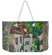 Arch Of Saint-cirq-lapopie Weekender Tote Bag