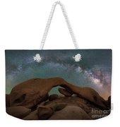 Arch Rock Milky Way  Weekender Tote Bag