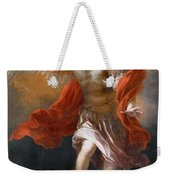 Archangel Michael Hurls The Devil Into The Abyss Weekender Tote Bag