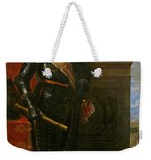 Archduke Leopold Wilhelm With The Siege Of Gravelingen Weekender Tote Bag